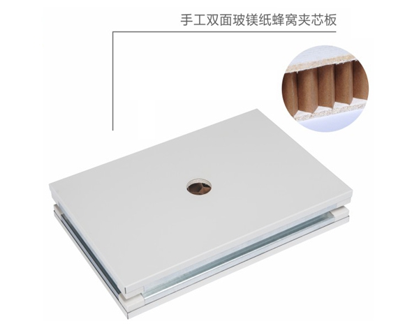 手工双面玻镁纸蜂窝夹芯板